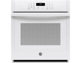 GE Appliances 27 inch 4.3 cu. ft. Smart Built-In Single Wall Oven in White JKS3000DNWW