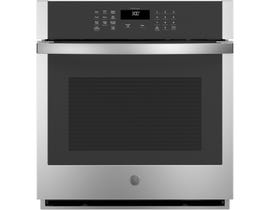 GE Appliances 27 inch 4.3 cu. ft. Smart Built-In Single Wall Oven in Stainless Steel JKS3000SNSS