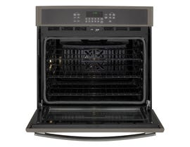 GE 30 inch 5.0 cu.ft. Self Clean Electric Convection Wall Oven in Slate JT5000EJES