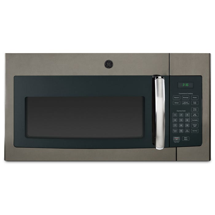 GE 30 inch 1.6 cu.ft. Over-the-Range Microwave Oven in slate JVM1635SLJC