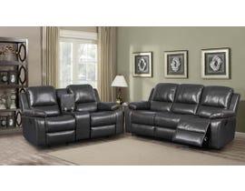 K Elite 3 Piece Alice Living Room Sofa Set in Brown K-550SLC-BR