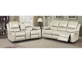 K Elite 3 Piece Alice Living Room Sofa Set in Taupe K-550SLC-TP