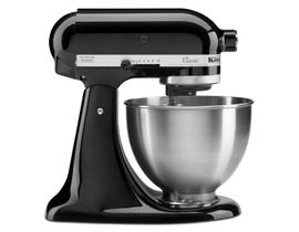 KitchenAid Classic Series 4.5-Quart Tilt-Head Stand Mixer in Onyx Black K45SSOB