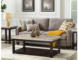 High Society Kansas Collection Coffee Table in Cherry