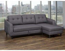 K Living Katie Sofa Bed in Dark Grey