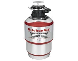 KitchenAid 1HP Batch Feed Food Waste Disposer KBDS100T