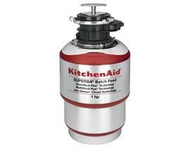 KitchenAid 1HP Batch Feed Food Waste Disposer KBDS100T