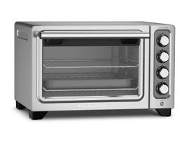 KitchenAid Artisan Convection Compact Oven in Contour Silver KCO253CU