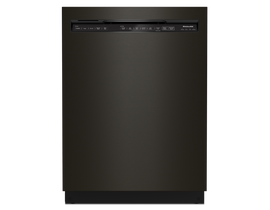 KitchenAid 24 inch Tall Tub Dishwasher in Black Stainless KDFM404KBS