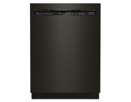 KitchenAid 24 inch 39 dBA Built-In Dishwasher with Third Level Utensil Rack in Black Stainless KDFE204KBS