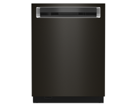 KitchenAid 24 inch Tall Tub Dishwasher in Black Stainless KDPM804KBS