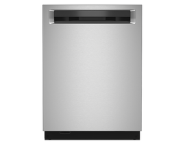 KitchenAid 24 inch Tall Tub Dishwasher in Stainless Steel KDPM804KPS
