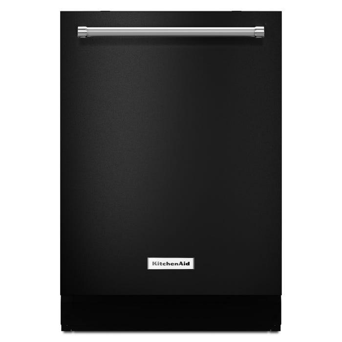KitchenAid 24 Inch Tall Tub Dishwasher in Black KDTM404EBL