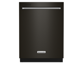 KitchenAid 24 inch Tall Tub Dishwasher in Black Stainless KDTM404KBS