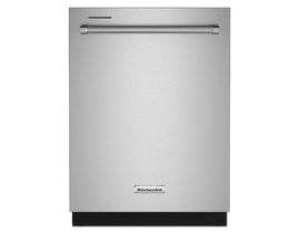 KitchenAid 24 inch Tall Tub Dishwasher in Stainless Steel KDTM404KPS