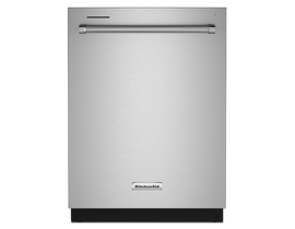 KitchenAid 44 dBA Dishwasher in PrintShield™ Finish with FreeFlex™ Third Rack in Stainless Steel KDTM404KPS