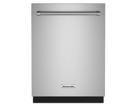 KitchenAid 24 inch Tall Tub Dishwasher in Stainless Steel KDTM604KPS