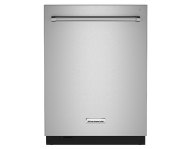 KitchenAid 24 inch Tall Tub Dishwasher in Stainless Steel KDTM804KPS