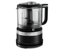 KitchenAid 3.5 Cup Mini Food Processor in Black Matte KFC3516BM