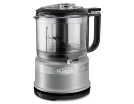 KitchenAid 3.5 Cup Mini Food Processor in Matte Gray KFC3516FG