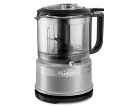 KitchenAid 3.5 Cup Mini Food Processor in Matte Gray KFC3516FG