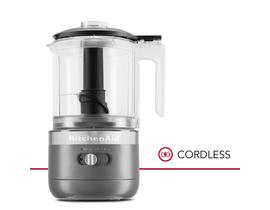 KitchenAid 5 Cup Cordless Food Chopper in Charcoal Grey KFCB519DG