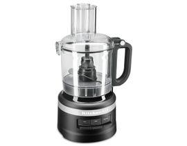 KitchenAid 7 Cup Food Processor in Black Matte KFP0718BM