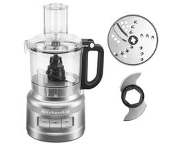 KitchenAid 7 Cup Food Processor in Contour Silver KFP0718CU