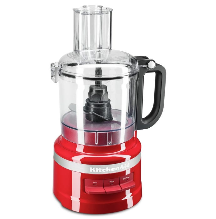 KitchenAid 7 Cup Food Processor in Empire Red KFP0718ER
