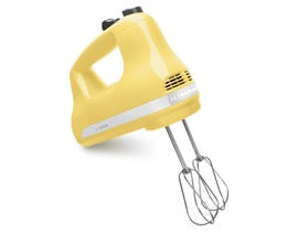 KitchenAid 5-Speed Ultra Power Hand Mixer in Majestic Yellow KHM512MY