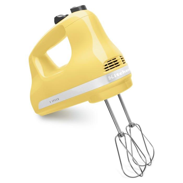 KitchenAid 5-Speed Ultra Power Hand Mixer in Majestic Yellow KHM512MY