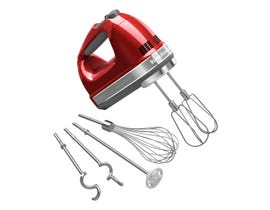 KitchenAid 9-Speed Architect Hand Mixer in Candy Apple Red KHM926ACA