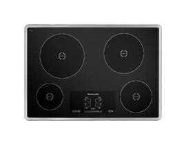 KitchenAid 30 inch 4-Element Induction Cooktop in Stainless Steel KICU500XSS