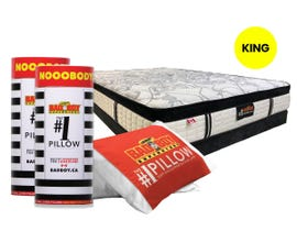 #1 King Size Pillow & Mattress Kit