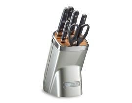 KitchenAid 7pc Professional Series Cutlery Set Sugar Pearl Silver KKFMA07SR