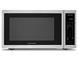 KitchenAid 1.5 Cu. Ft. Stainless Steel Countertop Convection Microwave KMCC5015GSS