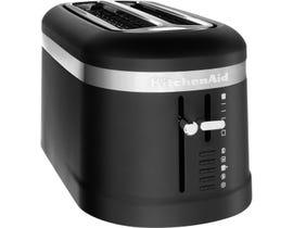 KitchenAid 4 Slice Long Slot Toaster with High-Lift Lever inBlack Matte KMT5115BM
