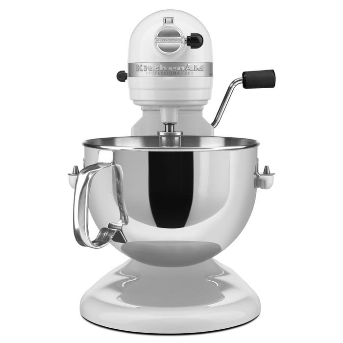 Enjoyable Kitchenaid Pro 600 Series 6 Quart Bowl Lift Stand Mixer In White Kp26M1Xwh Download Free Architecture Designs Scobabritishbridgeorg