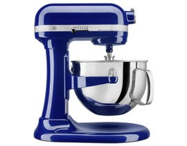 KitchenAid Pro 600 Series 6 Quart Bowl-Lift Stand Mixer in Cobalt Blue KP26M1XBU
