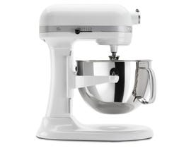 KitchenAid Pro 600 Series 6 Quart Bowl-Lift Stand Mixer in White KP26M1XWH