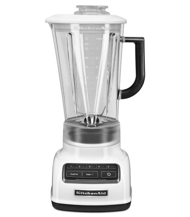 KitchenAid 5-Speed Diamond Blender in White KSB1575WH