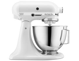 KitchenAid Ultra Power Plus Tilt-Head Stand Mixer in White KSM100PSWH