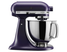 KitchenAid Artisan Series 5-Quart Tilt-Head Stand Mixer in Matte Black Violet KSM150PSBV