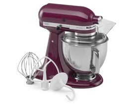 KitchenAid Artisan Series 5-Quart Tilt-Head Stand Mixer in Boysenberry KSM150PSBY