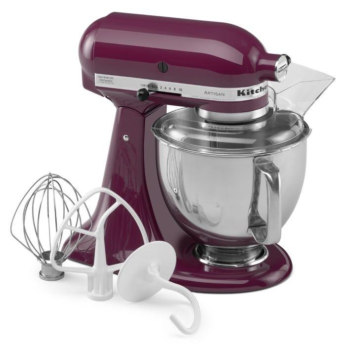 Kitchenaid Artisan Series 5 Quart Tilt Head Stand Mixer In Boysenberry Ksm150psby