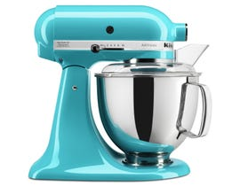 KitchenAid Artisan Series 5-Quart Tilt-Head Stand Mixer in Crystal Blue KSM150PSCL