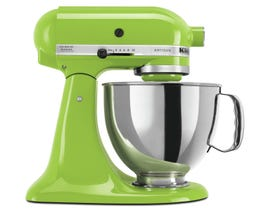 KitchenAid Artisan Series 5-Quart Tilt-Head Stand Mixer in Green Apple KSM150PSGA
