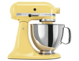 KitchenAid Artisan Series 5-Quart Tilt-Head Stand Mixer in Majestic Yellow KSM150PSMY