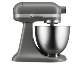 KitchenAid Artisan Mini 3.5 Quart Tilt-Head Stand Mixer in Matte Gray KSM3311XFG
