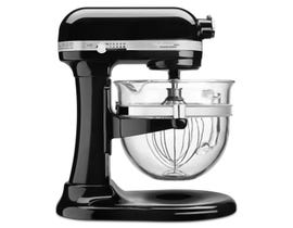 KitchenAid Professional 6500 Design Series bowl-lift Stand Mixer in Onyx Black KSM6521XOB